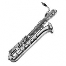 Yamaha YBS-62S Eb Baritone Saxophone Outfit  In Silver Plate (YBS62SE)