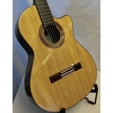 K. Yairi CE1 Handmade Japanese Slim Body  Electro Classical Guitar in Natural