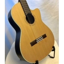 K. Yairi CY62CE Handmade Japanese Electro Classical Guitar in Natural