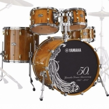 Yamaha Absolute Hybrid Maple 50th Anniversary Shell Pack with Bags