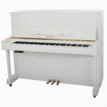 Yamaha B3-SG2 Silent Upright Piano in Polished White