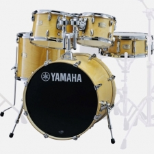 Yamaha Stage Custom Birch Drum Kit in Natural with Yamaha 700 Hardware