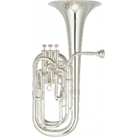 Yamaha YBH831S Neo Baritone Horn In Silver Plate inc Case & Mouthpiece