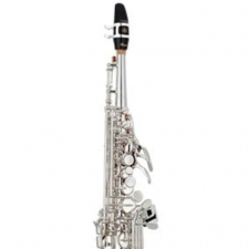 Yamaha YSS-82ZS Soprano Saxophone in Silver Plate With Mouthpiece & Case
