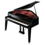 Yamaha N3X Avant Grand Hybrid Piano, Polished Ebony