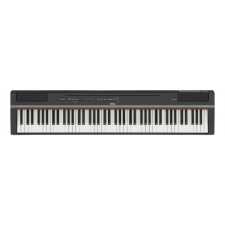 Yamaha P125 Portable Piano in Black, 1 Left (Display)