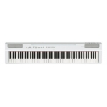 Yamaha P125 Digital Stage Piano, White