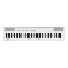 Yamaha P125 Portable Piano in White (With Built-In Speakers)
