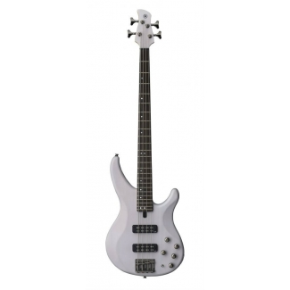 Yamaha TRBX504 TBL 4 String Bass Translucent White