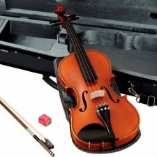 Full-size Yamaha Braviol V5SA Violin Outfit With Bow, Case & Rosin