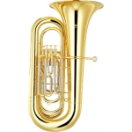 Yamaha YBB321 4 Valve Bb Tuba With Case & Mouthpiece