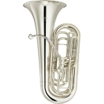 Yamaha YCB621S 4 valve C Tuba in Lacquer with Case & Mouthpiece