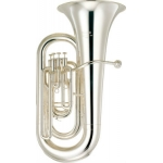 Yamaha YEB321S 4 Valve Eb Tuba In Silver Plate With Case & Mouthpiece