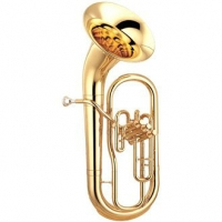Yamaha YEP211 Bell Front Bb Euphonium in Lacquer With Case & Mouthpiece