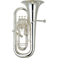 Yamaha YEP621S Bb Euphonium in Silver Plate With Case & Mouthpiece