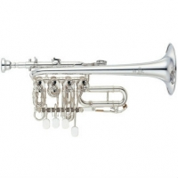 Yamaha YTR988 Bb/A Custom Rotary Trumpet With Mouthpiece & Case