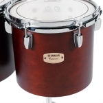 "Yamaha CT8016 16"" Single Headed Concert Tom in Dark Wood Stain"