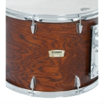 "Yamaha CT9016 16"" Double Headed Concert Tom in Dark Wood Stain"