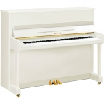 Yamaha P116 Upright Piano in Polished White