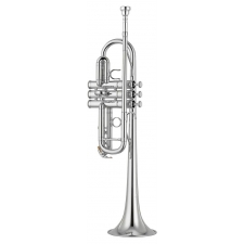 Yamaha YTR4435S Mk2 C Trumpet (Silver Plated) with Case & Mouthpiece