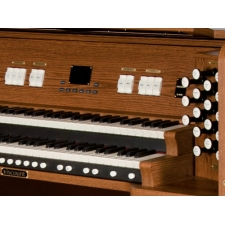 Viscount Envoy 33DFV Classical Organ With 32 Note Pedalboard & Bench