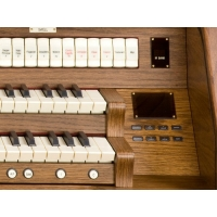Viscount Envoy 35S Classical Organ With 30 Note Pedalboard & Bench