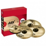"Sabian AAX X-Plosion Fast Pack, with Free 18"" Crash"