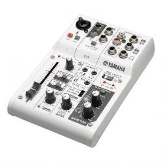 Yamaha AG03 3-Channel Mixer with USB Audio Interface