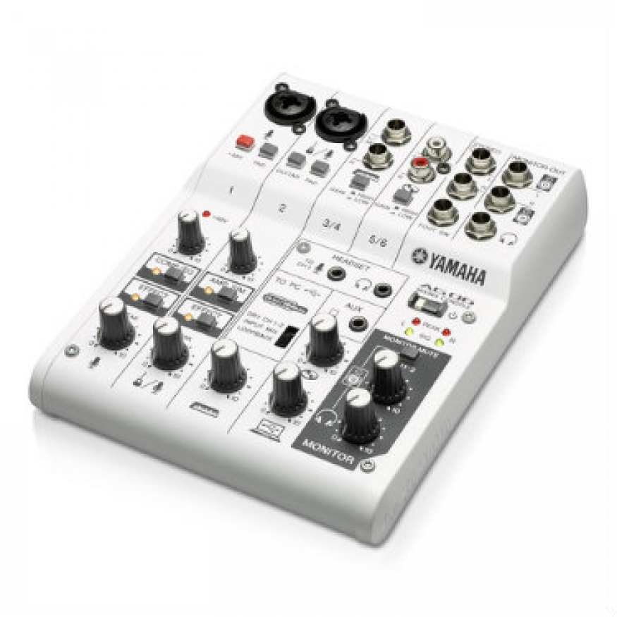 Yamaha ag06 6 channel mixer with usb audio interface for Yamaha audio customer service