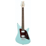 Sterling by Music Man Albert Lee Signature Model Electric Guitar In Daphne Blue
