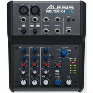Alesis Multimix 4 USB FX Audio Mixer/Interface