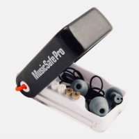 Alpine MusicSafe Pro Ear Plugs in White - Hearing Protection For Musicians