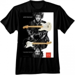 Fender Jimi Hendrix Alter Your Axis T-Shirt, Black, XXL