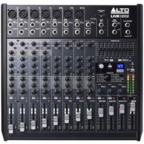 Alto Live 1202 - 12 Channel Passive Mixer