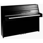 Yamaha B1 Upright Piano in Polished Ebony Black with Chrome Fittlings (B1PEC)