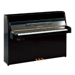 Yamaha B1-SG2 Silent Upright Piano in Polished Ebony Black (B1SG2PE)