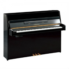 Yamaha B1-SG2 Silent Upright Piano in Polished Ebony Black