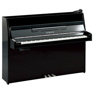 Yamaha B1-SG2 Silent Piano in Polished Black & Chrome Fittings (B1SG2PEC)