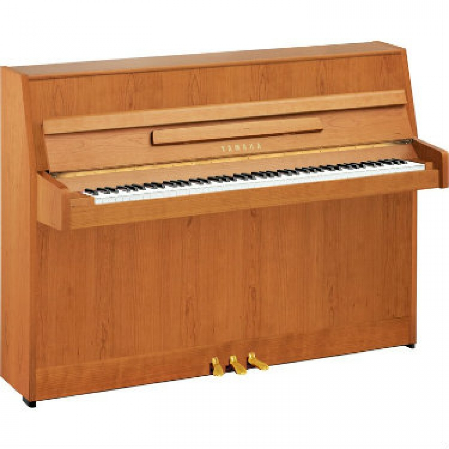 yamaha b1 upright piano in satin natural cherry b1snc at. Black Bedroom Furniture Sets. Home Design Ideas
