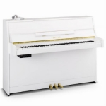 Yamaha B1-SG2 Silent Upright Piano in Polished White (B1SG2PWH)