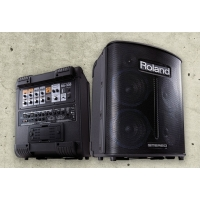"Roland BA330 Portable Mains Or Battery Stereo Digital PA System (4x6.5"")"