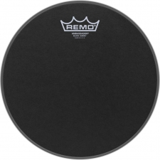 "Remo Ambassador 10"" Black Suede Batter Top Head (BA0810ES)"