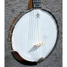Dave Stacey UK Made Bacon Style 5 String Banjo. Inc Case