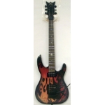 DBZ Bare Bones Religion Series Devil Electric Guitar