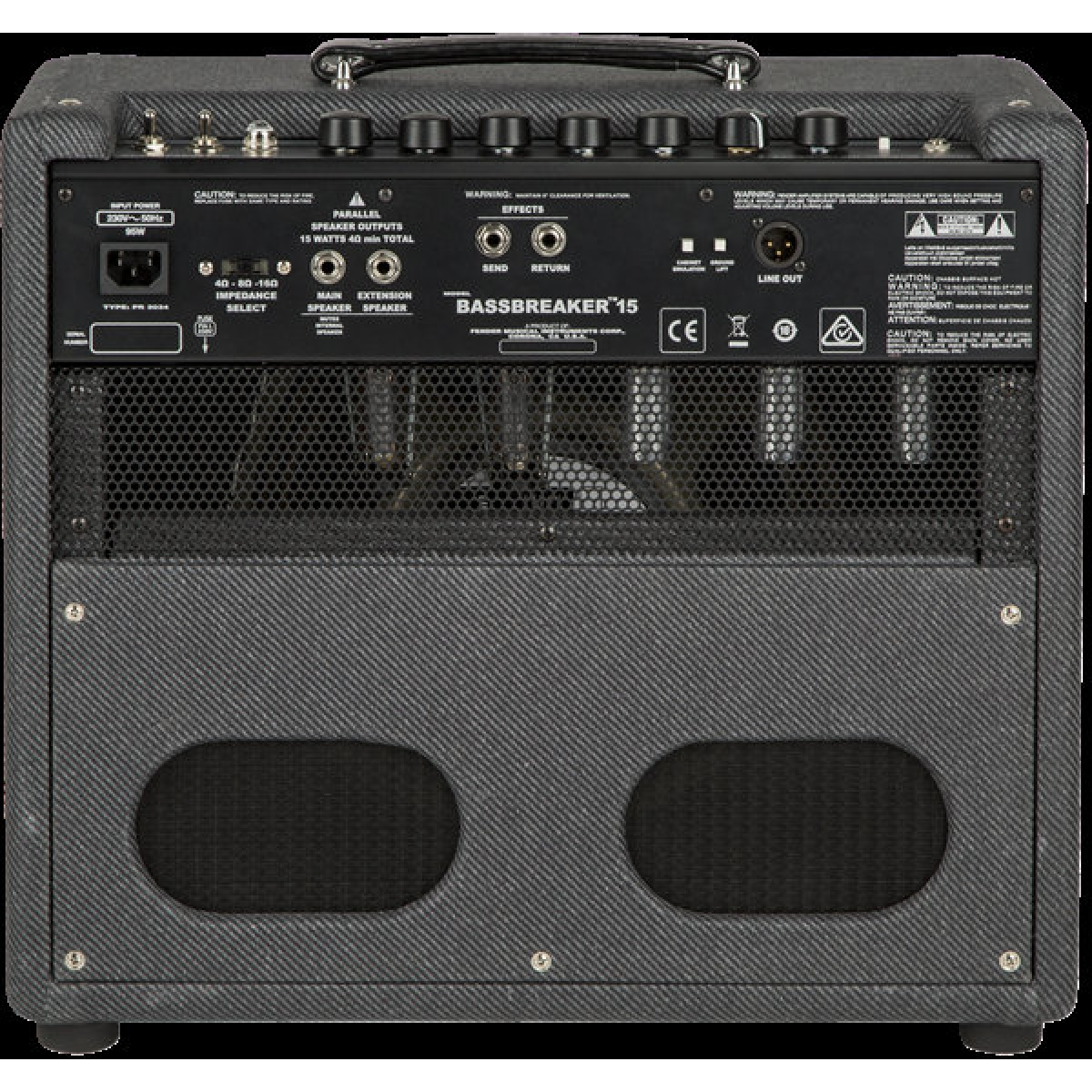 fender bassbreaker 15 guitar combo amp 15w valve 1x12 at promenade music. Black Bedroom Furniture Sets. Home Design Ideas