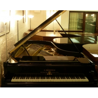 "Bechstein 7'10"" Grand Piano in Black, Fully Restored"