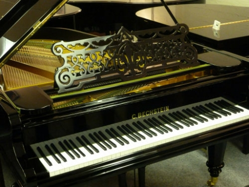 Bechstein Model A Grand Piano in Black Polyester, Fully Restored
