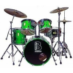 5 Piece Drum Kit & Hardware Hire