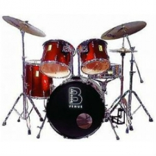 Beverley Venue Fusion Drum Kit in Spun Metal