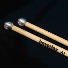 Beverley A1 Metallic Al Mallets with Rattan Handles (Bright & Delicate Tone)